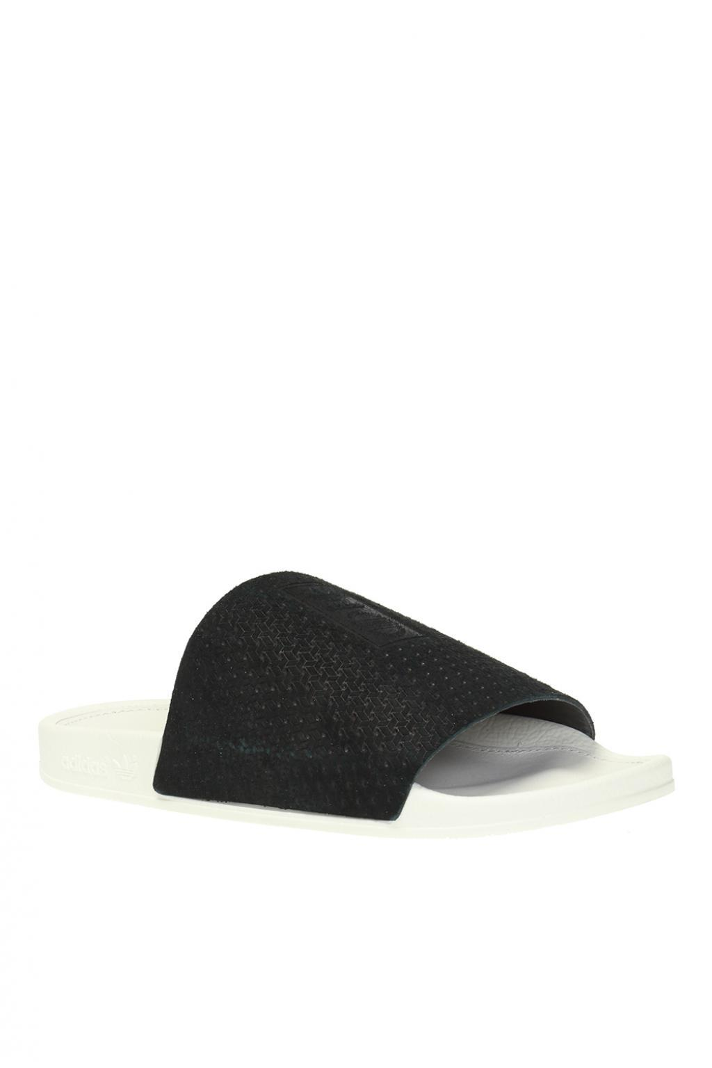 662a8743b Lyst - adidas Originals  adilette Luxe  Slides in Black