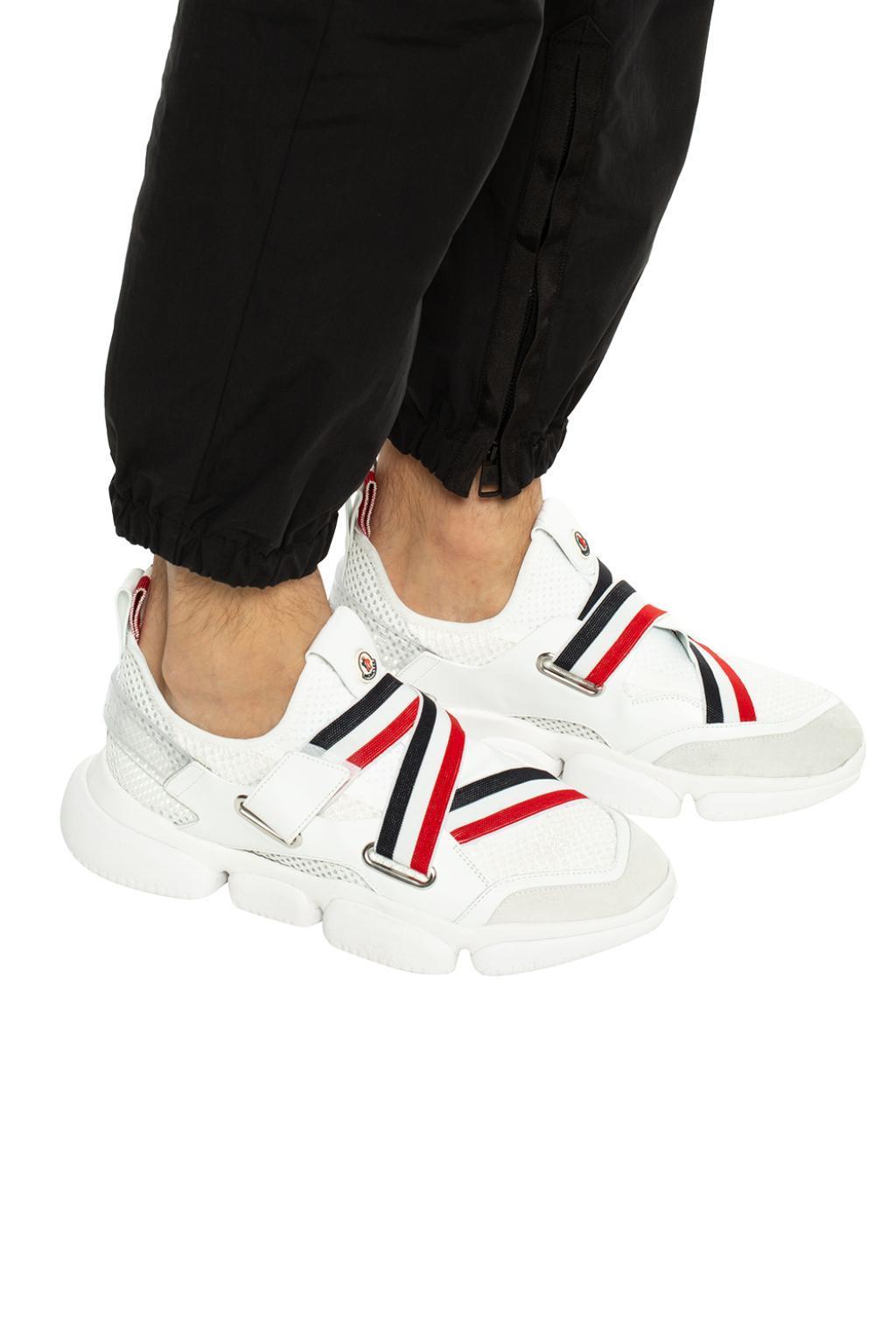 White Bakary Sneakers