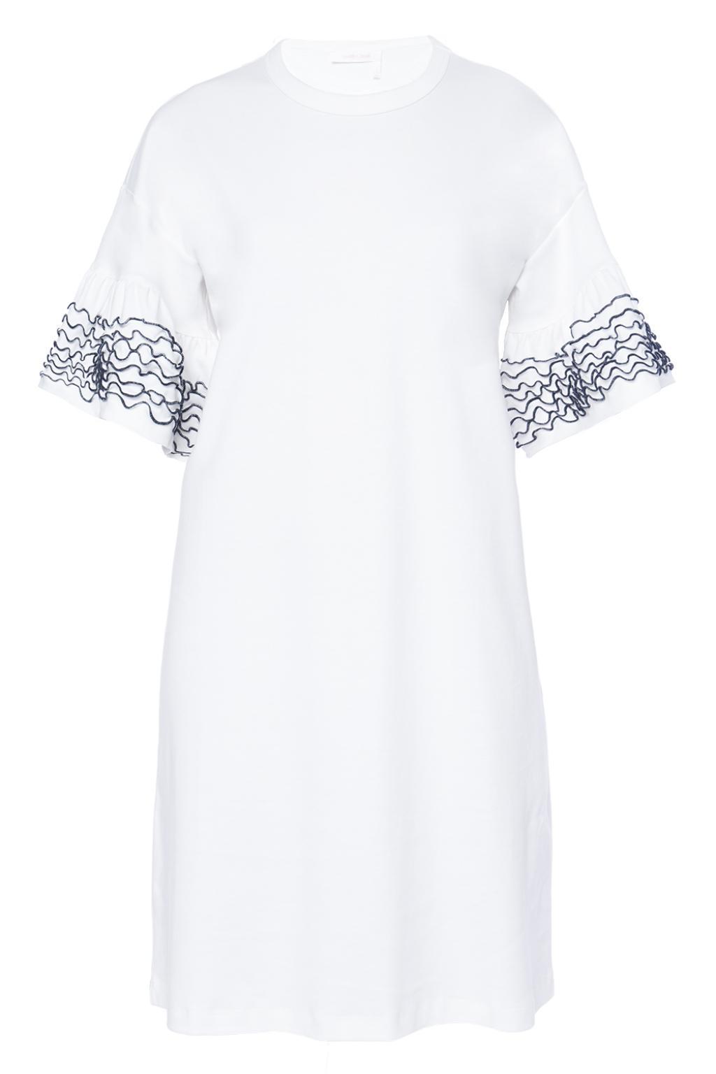 flared patterned dress - Black See By Chlo gK4LAebw