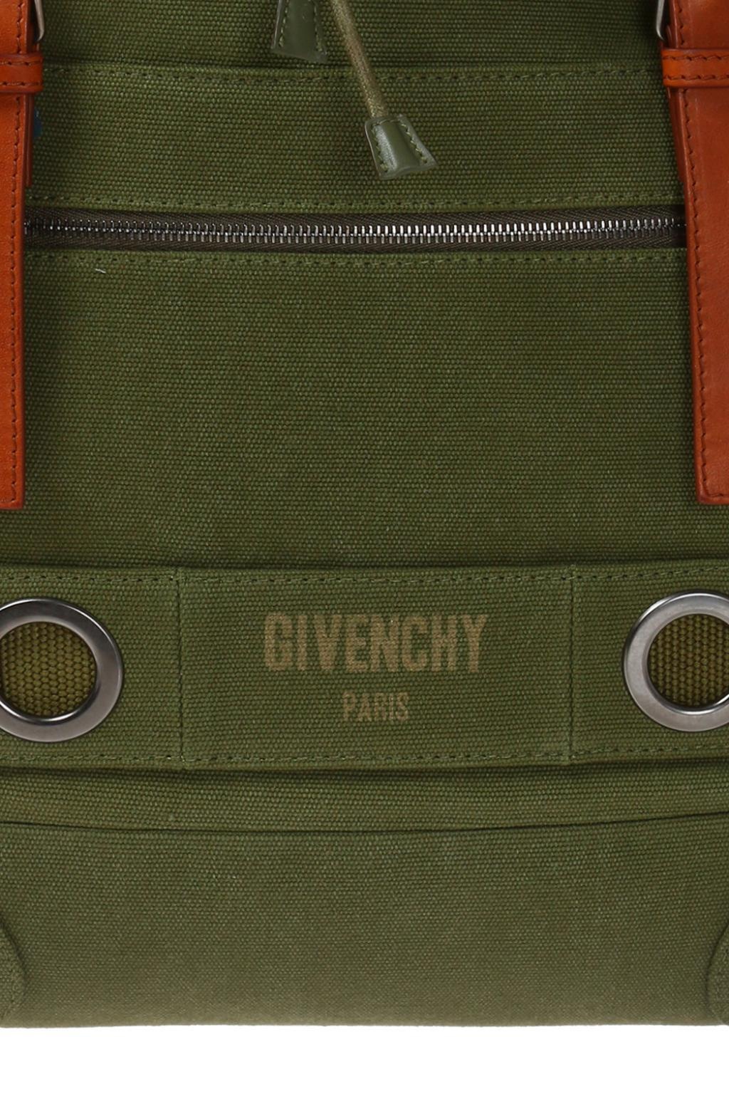 Givenchy Cotton 'military' Backpack in Green for Men