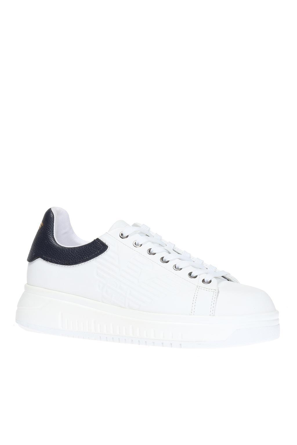 platform runner sneakers - White Emporio Armani xt3ff8