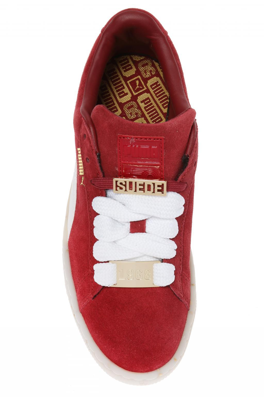 5e09799b2bb Puma  suede Classic B-boy Fabulous  Sneakers in Red - Lyst