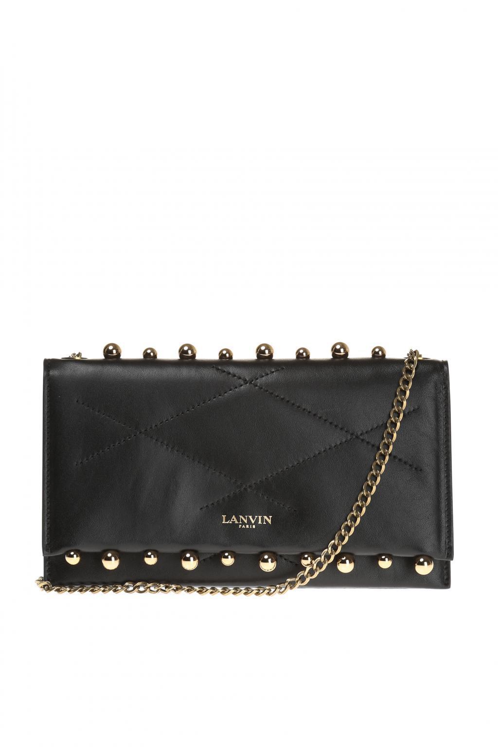 mini Sugar stud handbag - Black Lanvin zvnDCPcmE
