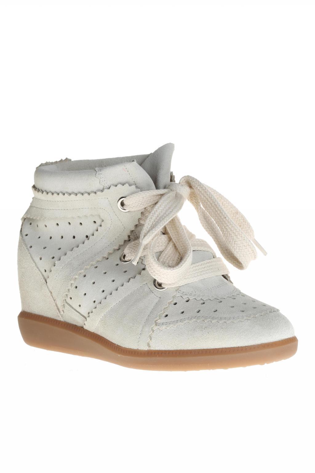 f35c403871e9 Étoile Isabel Marant - White Wedge  bobby  Sneakers - Lyst. View fullscreen