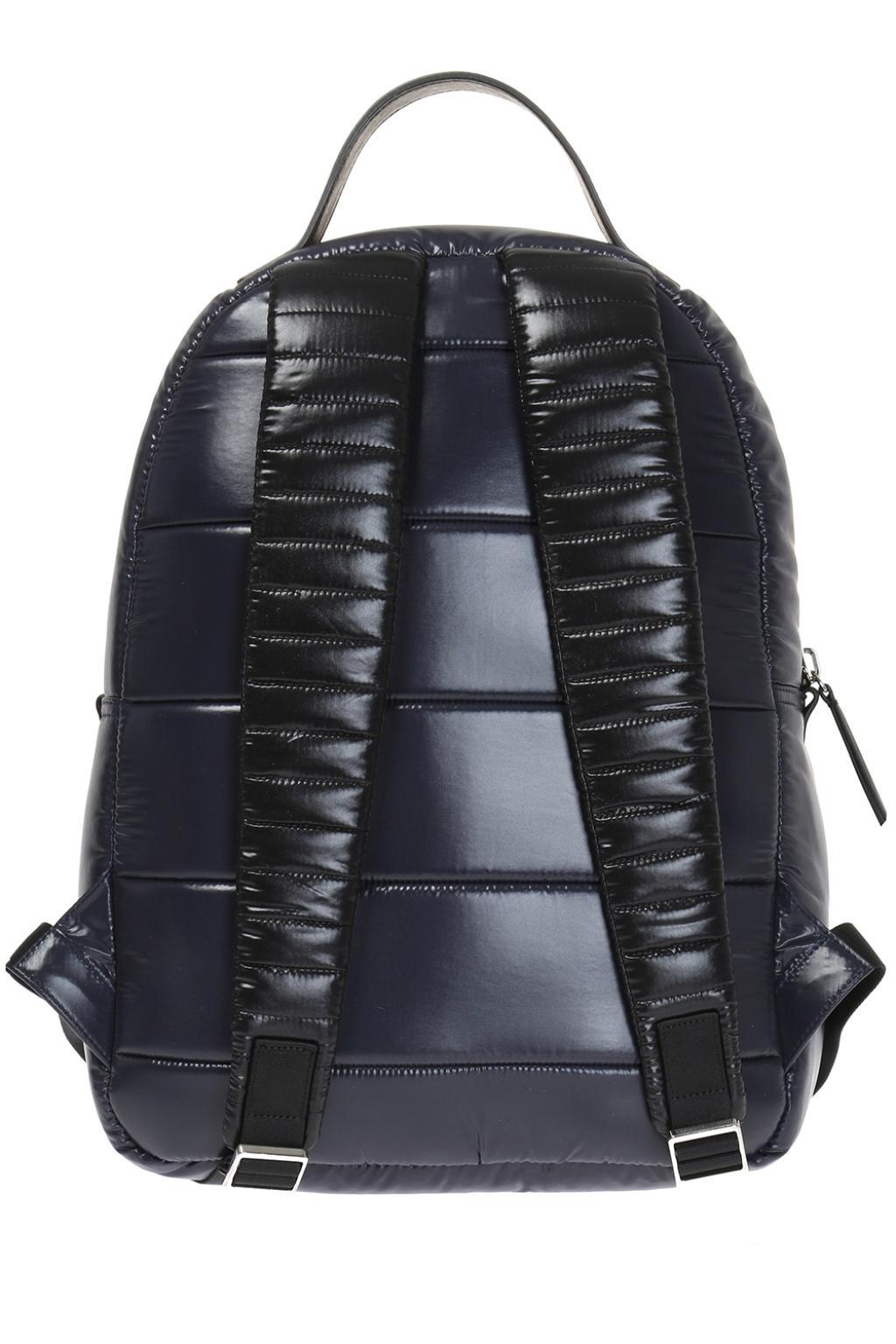 Moncler Synthetic 'new George' Backpack in Navy Blue (Blue) for Men