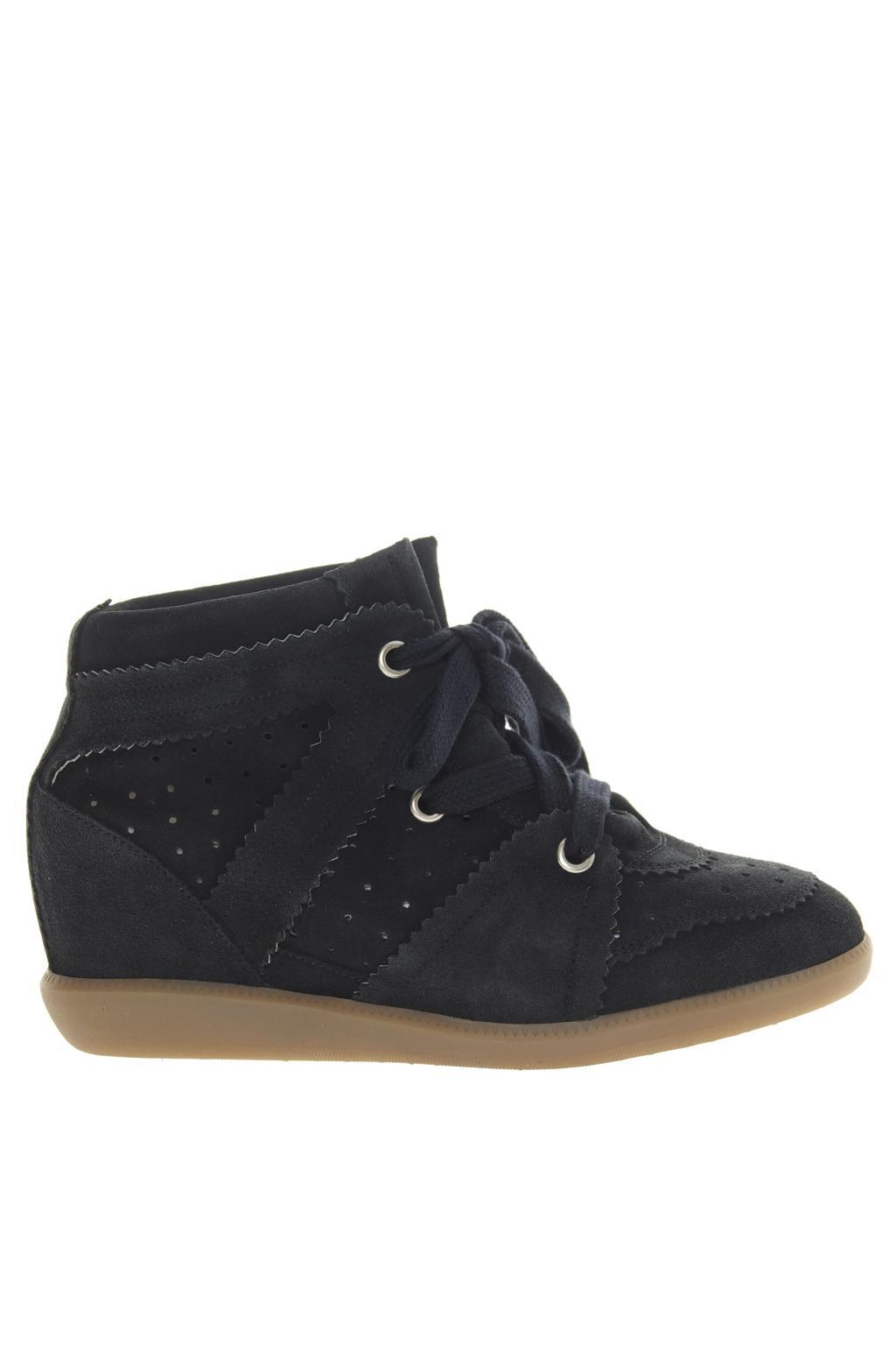 5d3427e14890 Lyst - Étoile Isabel Marant Wedge  bobby  Sneakers in Black