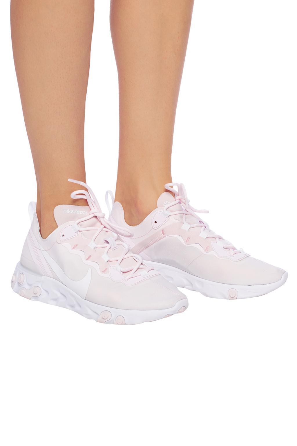 fb4ea8894 Lyst - Nike  react Element 55  Sneakers in Pink
