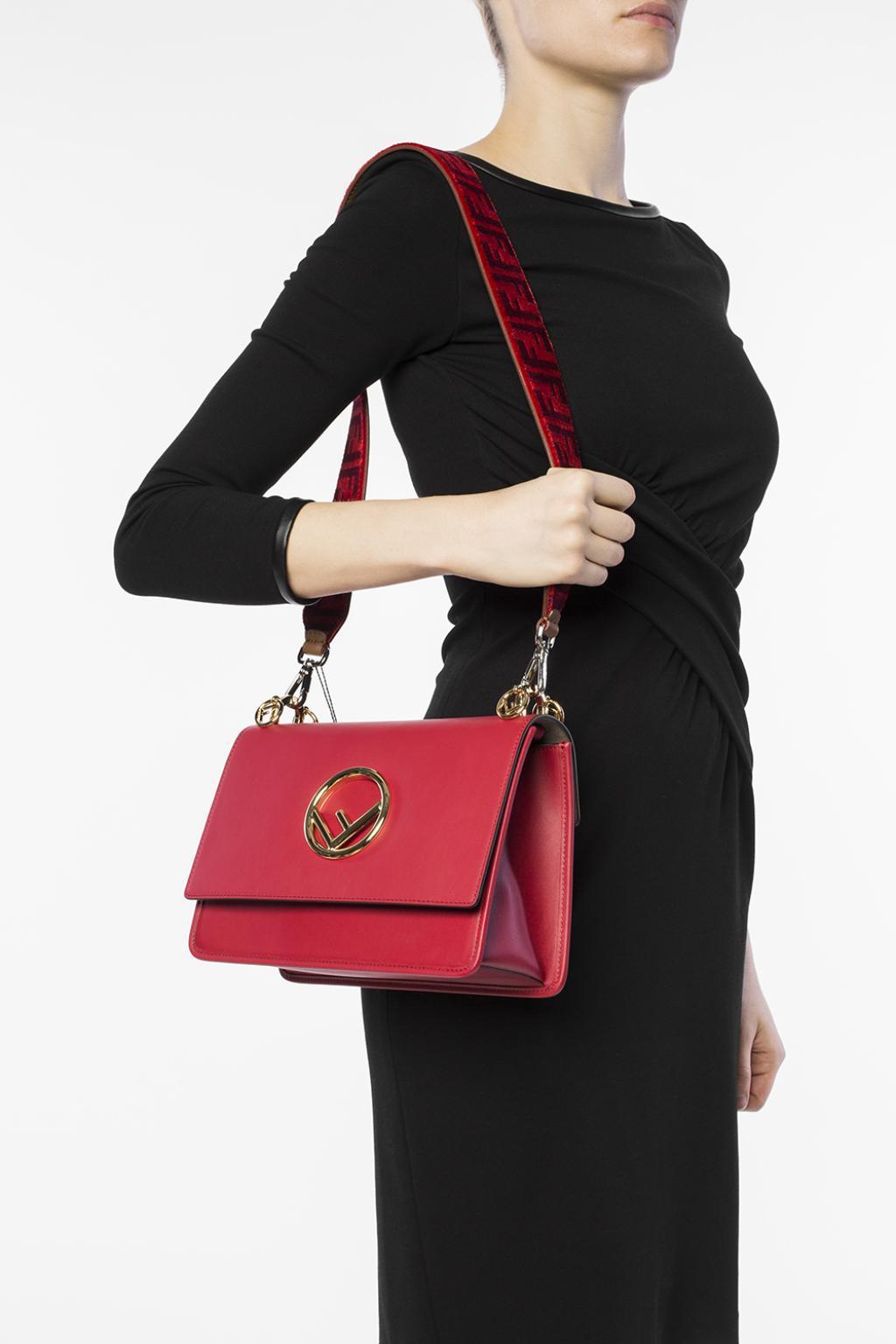 a2312d369591 Fendi - Red Bag Strap - Lyst. View fullscreen