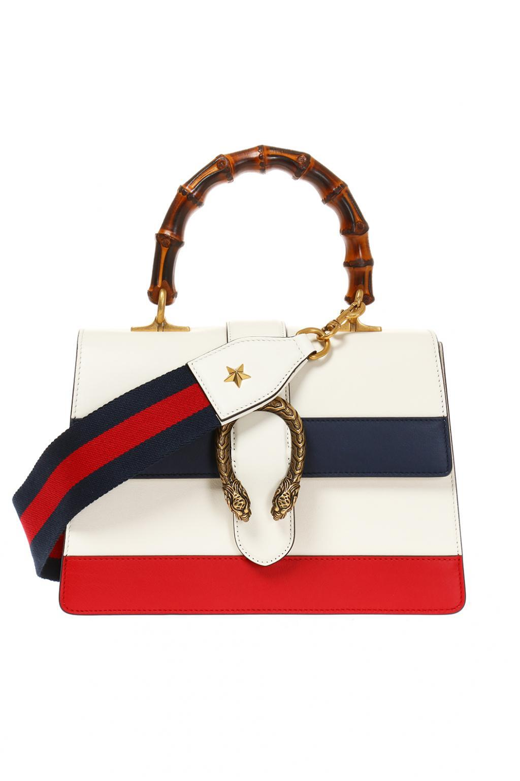 aa239baf0cd Lyst - Gucci  dionysus  Shoulder Bag in White - Save 17%