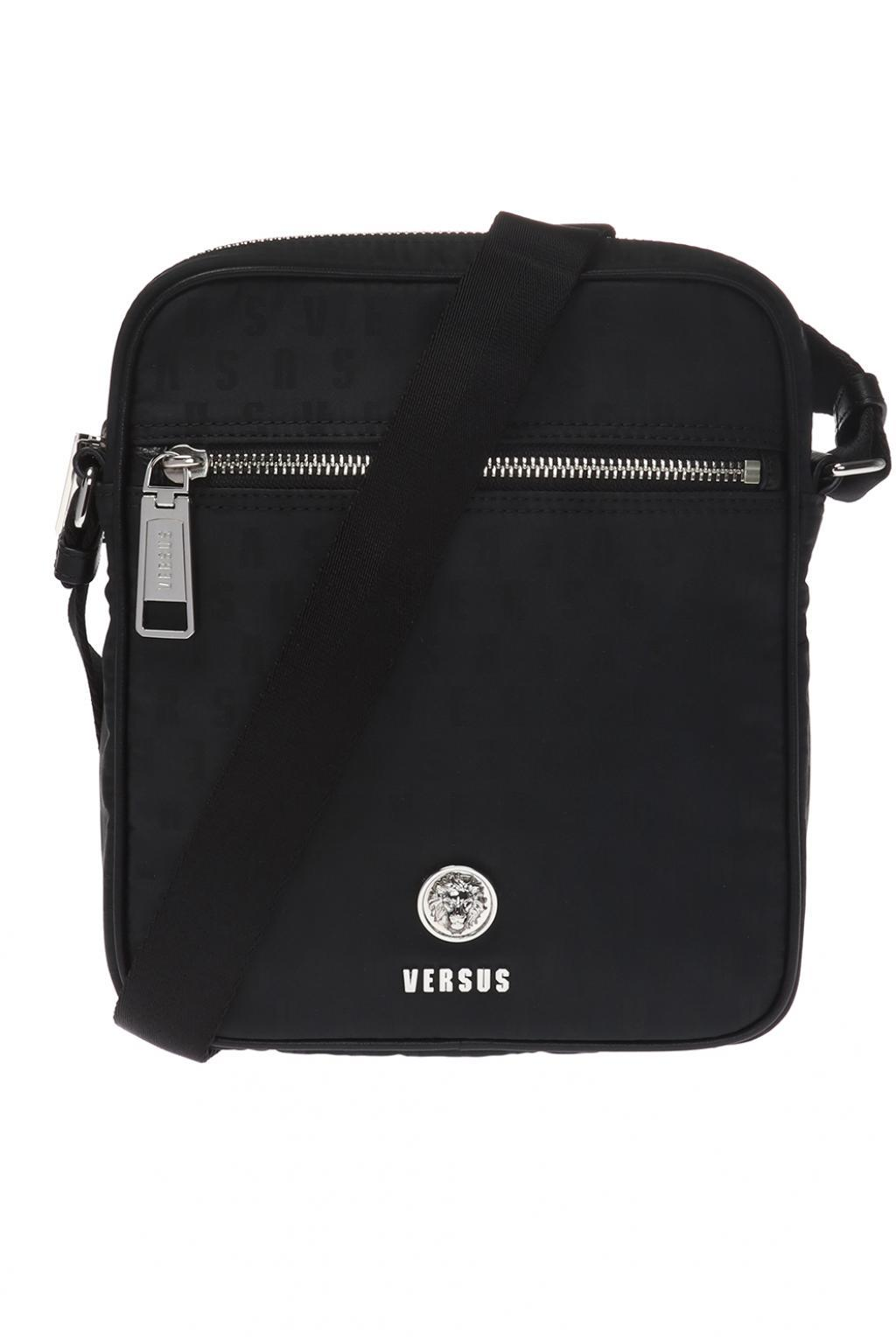 Versus - Black Logo Shoulder Bag for Men - Lyst. View fullscreen 22068f460810e