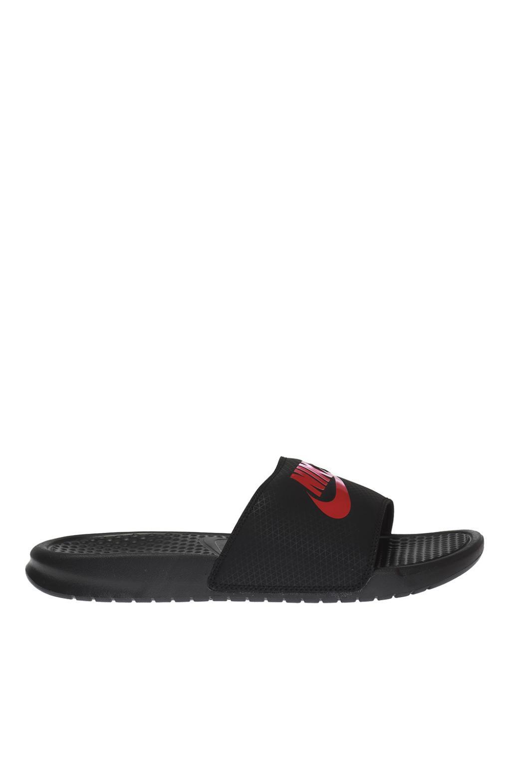 Lyst - Nike  benassi Jdi  Branded Slides in Black for Men 8d94cdb00
