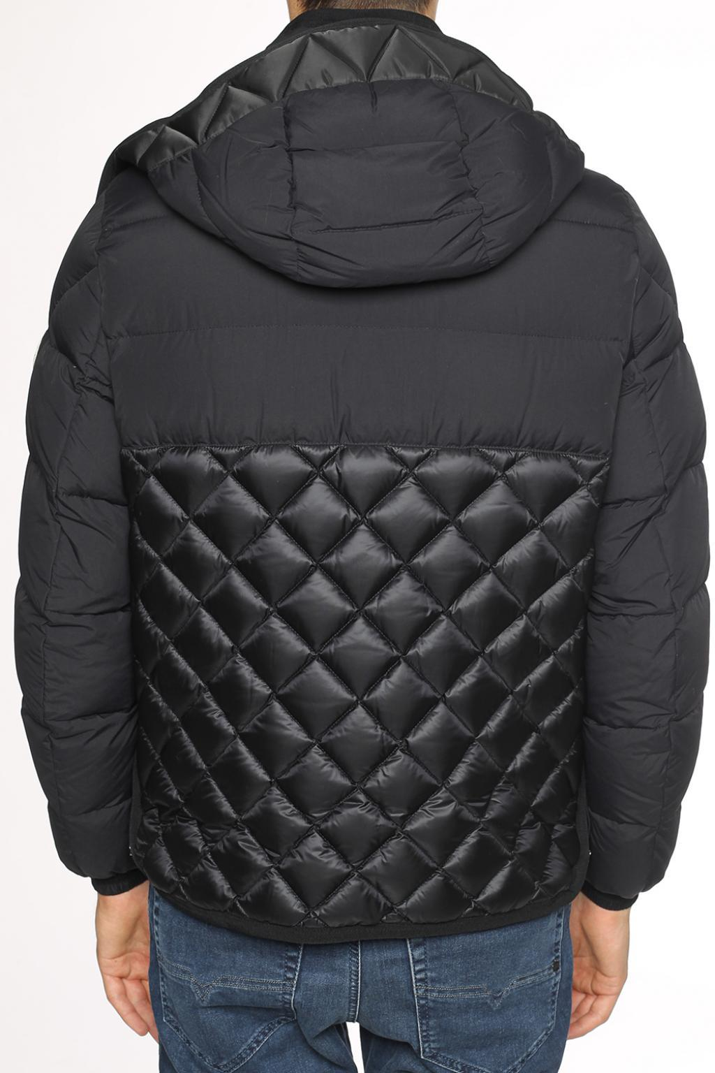 Moncler Synthetic 'tanguy' Quilted Jacket in Black for Men
