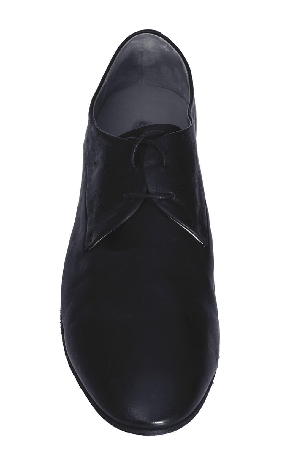 Marsèll Lace-up Leather Shoes in Black for Men