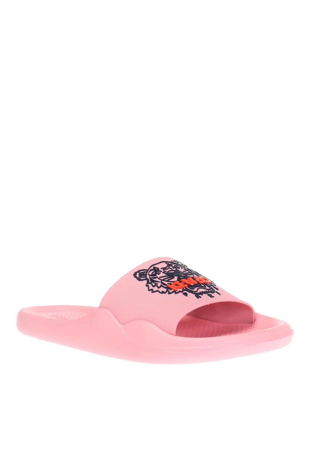 85607d2d0668 KENZO - Pink  tiger  Slides - Lyst. View fullscreen