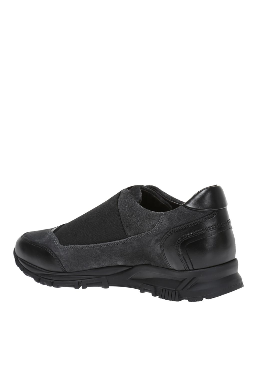 Lanvin Suede Sneakers in Grey (Grey) for Men