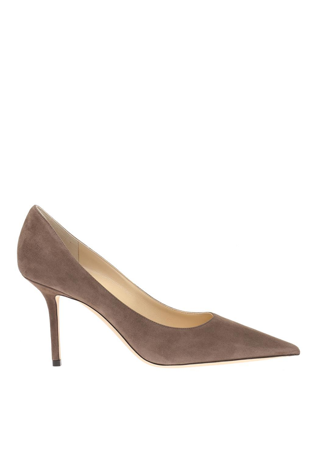 f811673f5 Lyst - Jimmy Choo 'love' Stiletto Pumps in Brown