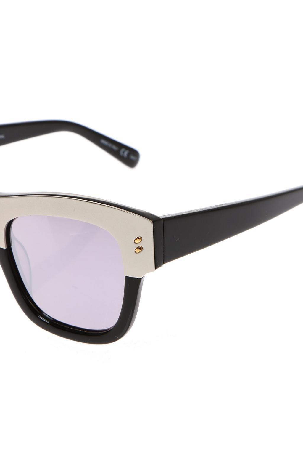 Stella McCartney Sunglasses in Silver (Metallic)