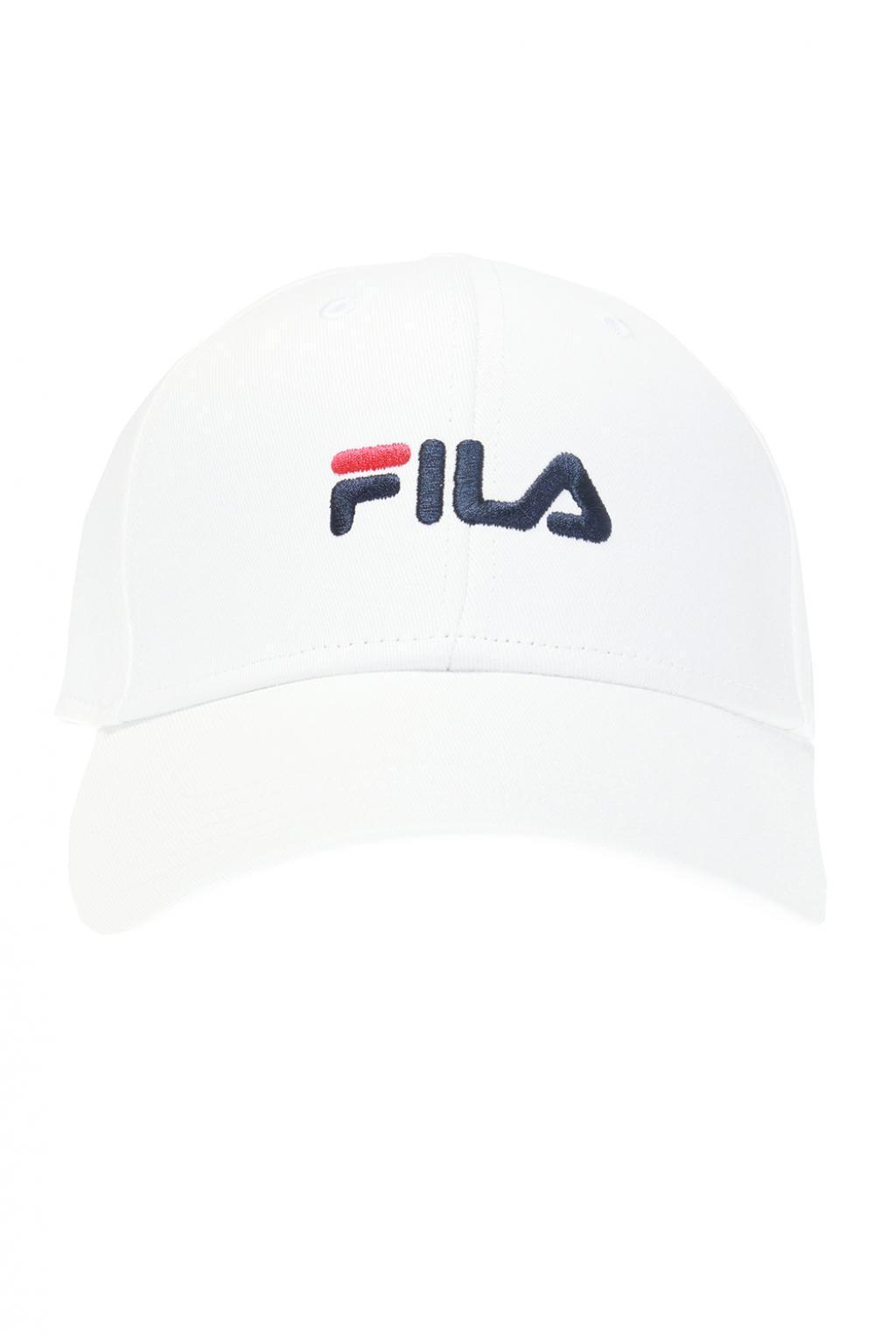 0f2f21c406e Fila - White Branded Baseball Cap for Men - Lyst. View fullscreen