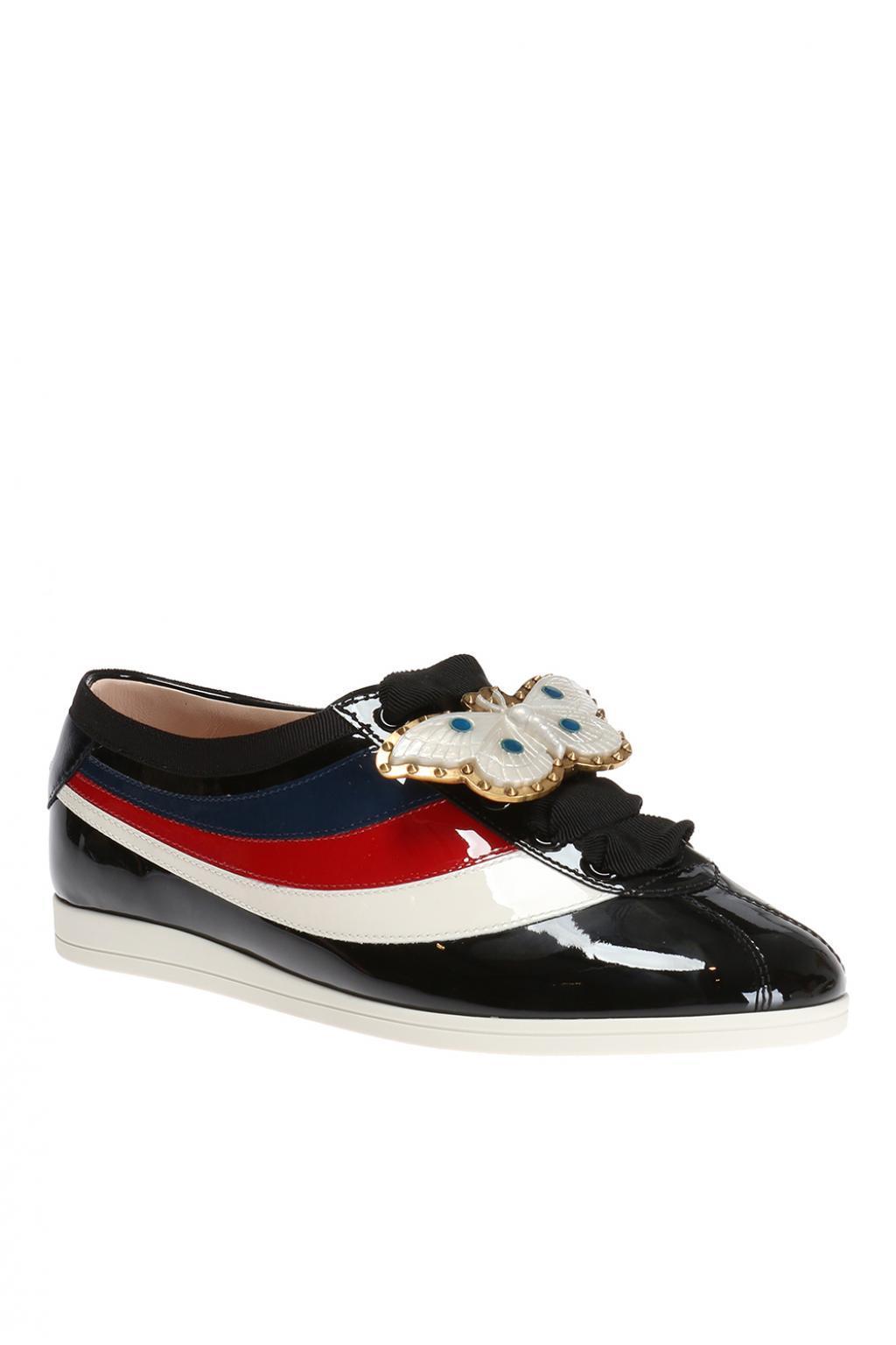 ad7da522553 Gucci - Black  falacer  Sneakers - Lyst. View fullscreen