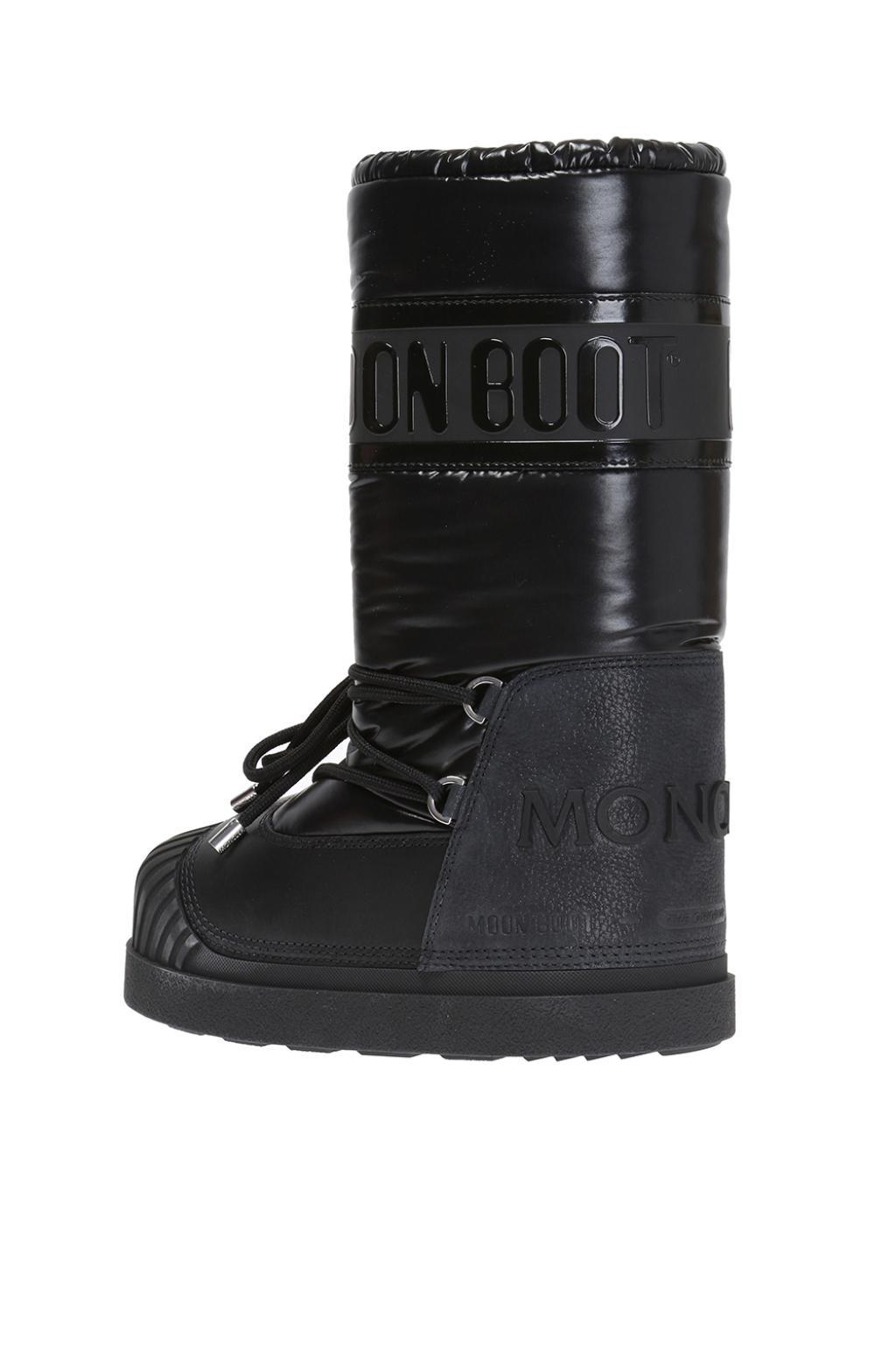 c6269f854bcd Moncler X Moon Boot in Black - Save 45% - Lyst