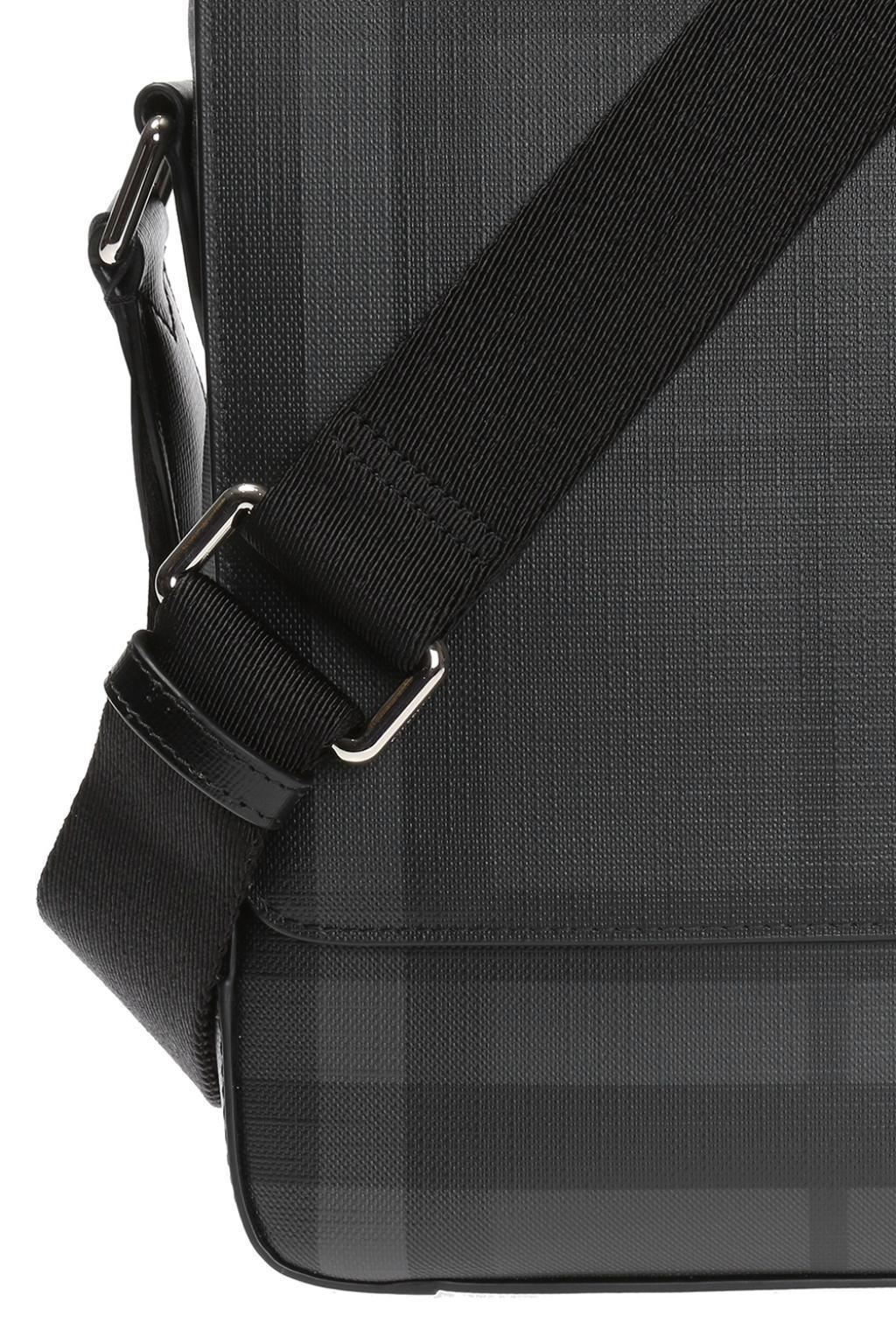 a2ff0de90c78 Lyst - Burberry  london Check  Patterned Shoulder Bag in Black for ...
