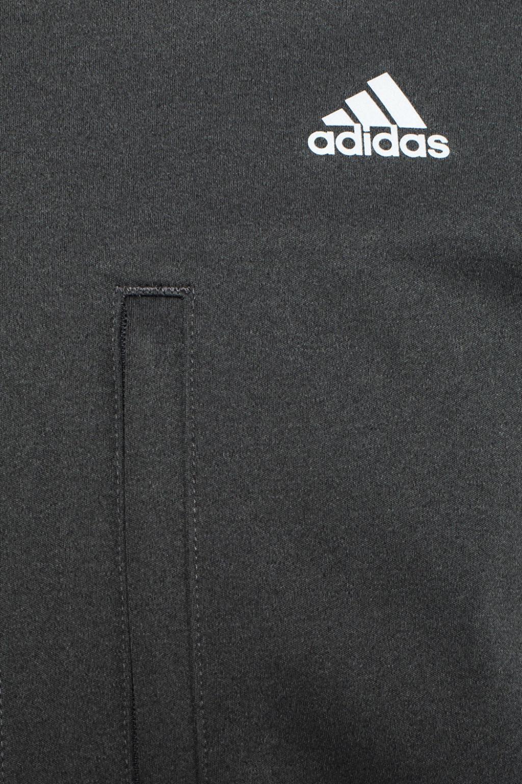 adidas Originals Synthetic Logo Jacket in Grey (Grey) for Men