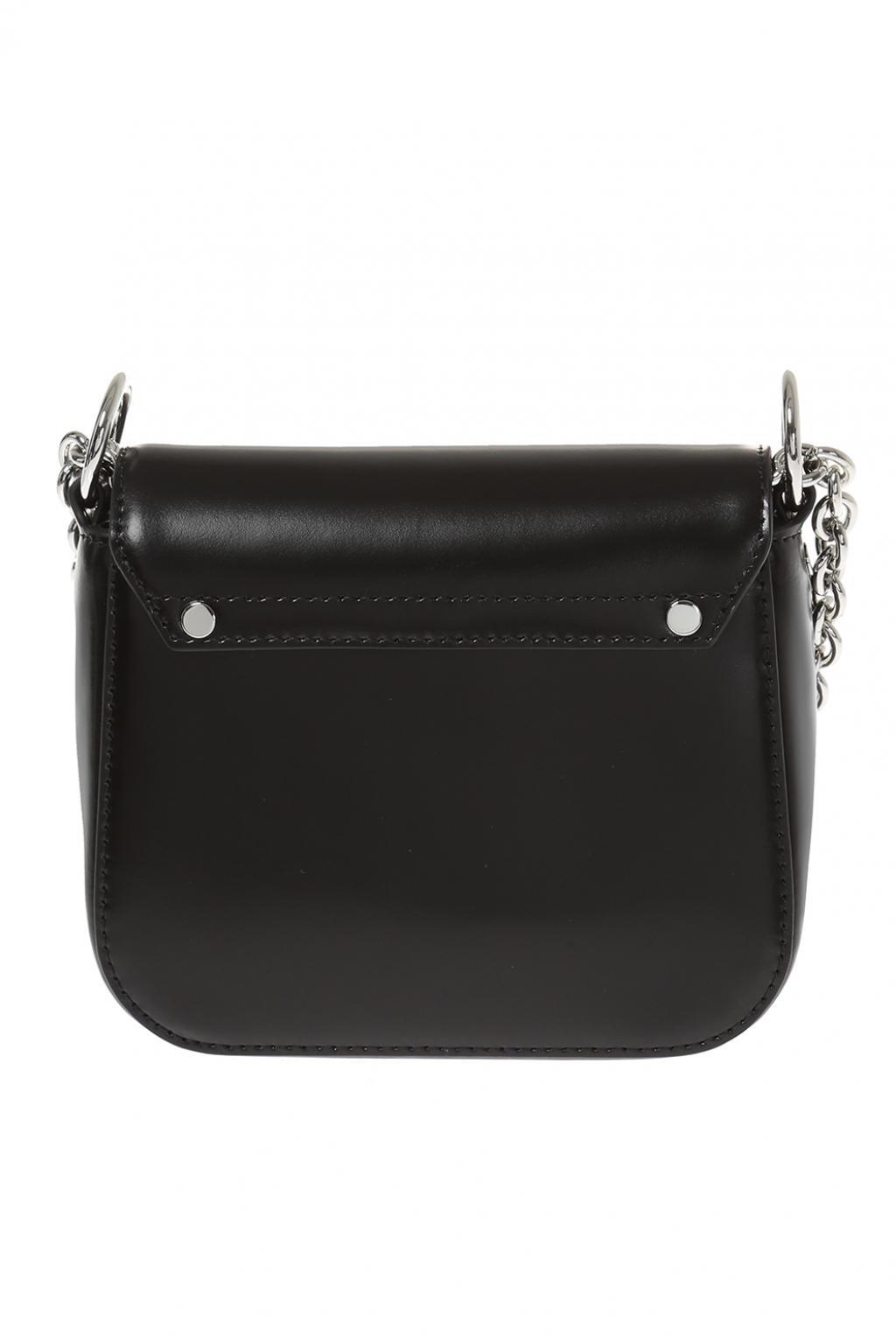 da21bbc82a8c Lyst - Versace Shoulder Bag With Safety-pins in Black