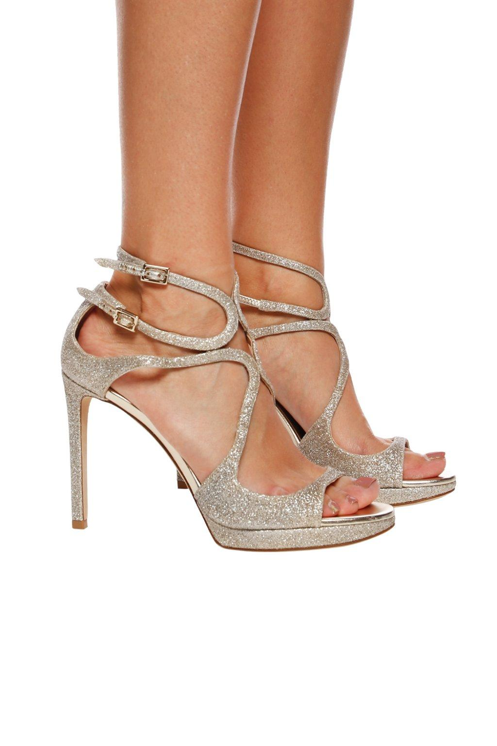 Jimmy Choo Leather 'ivette' Sandals in