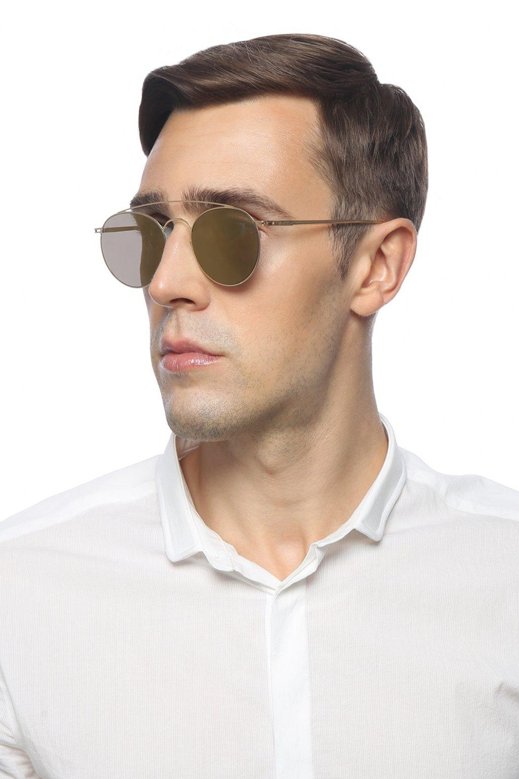 Mykita 'mmesse006' Sunglasses in Gold (Metallic)