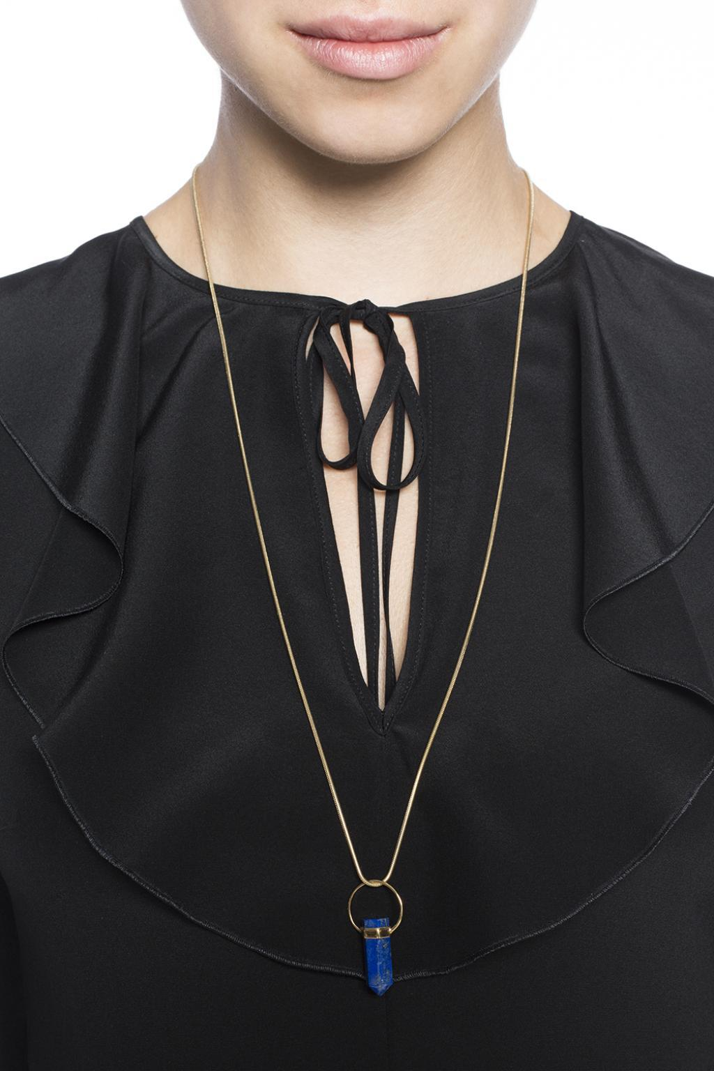 Isabel Marant Necklace With Charm in Gold (Metallic)