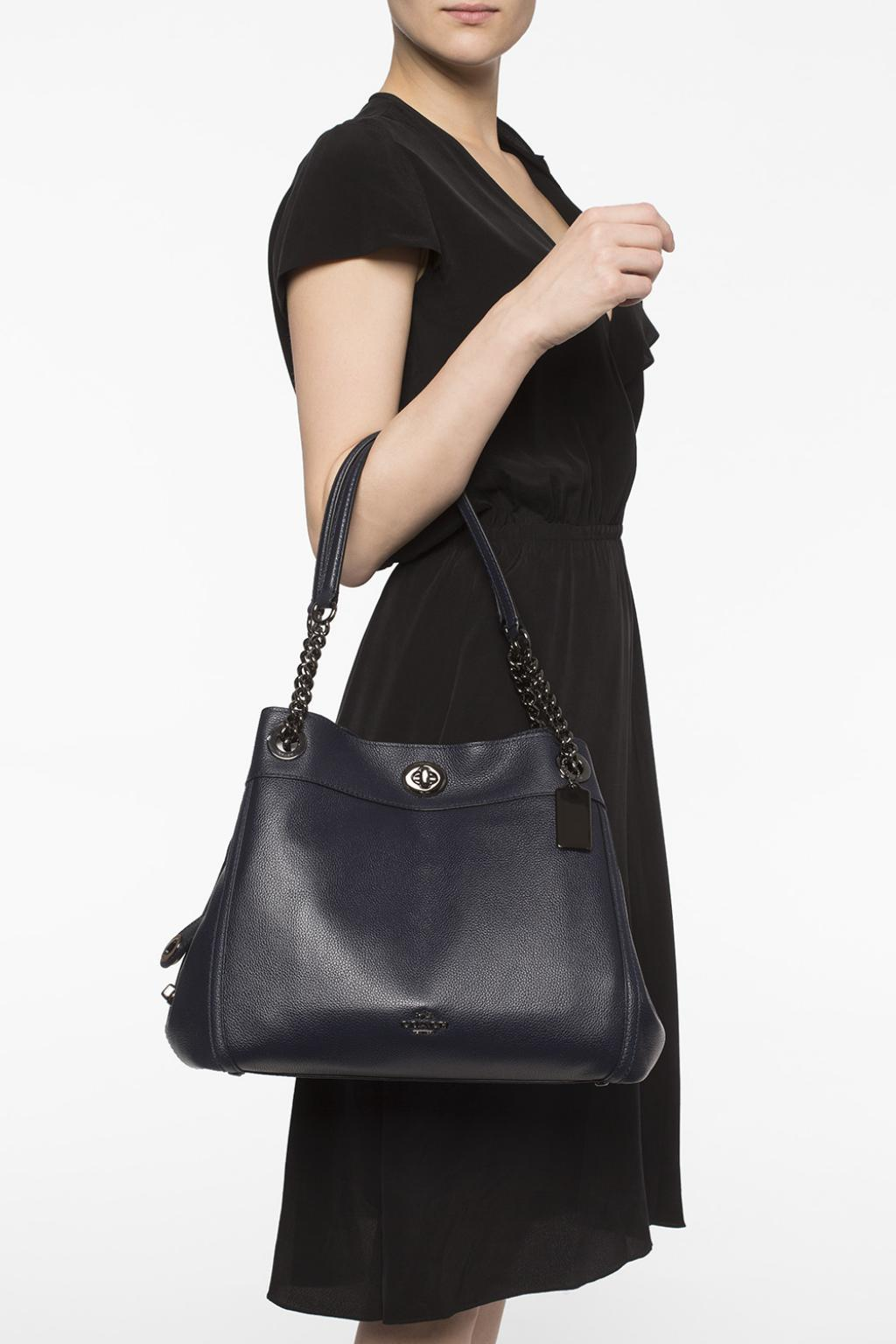 'turnlock Edie' Shoulder Bag