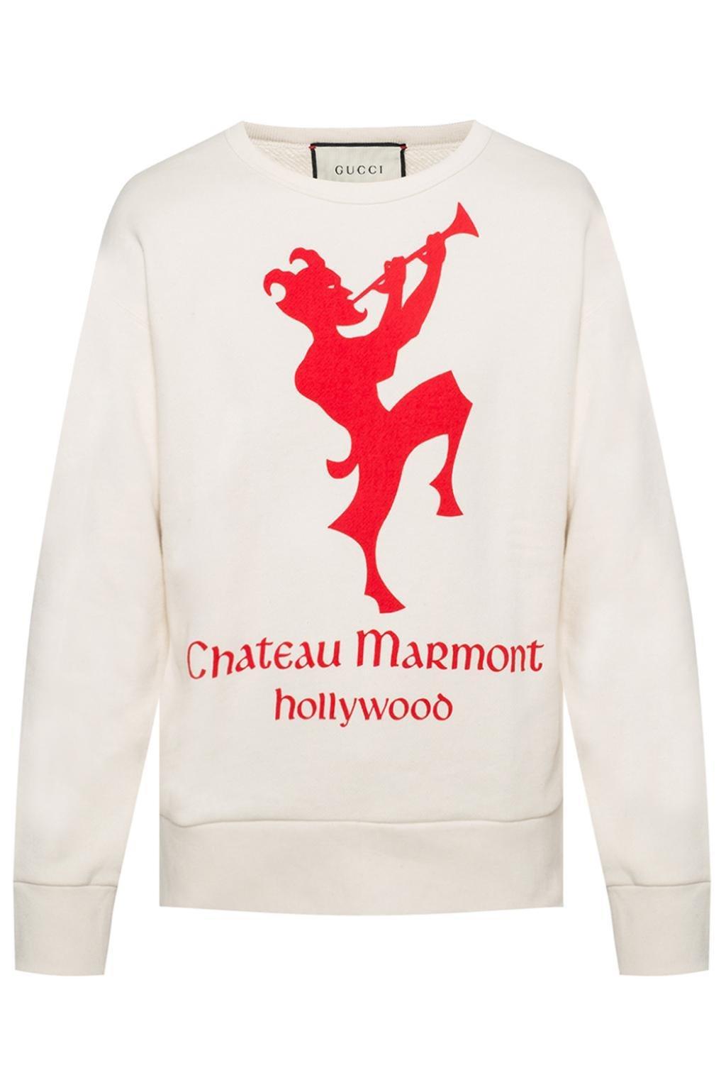 35729546734 Lyst - Gucci Logo-printed Sweatshirt for Men