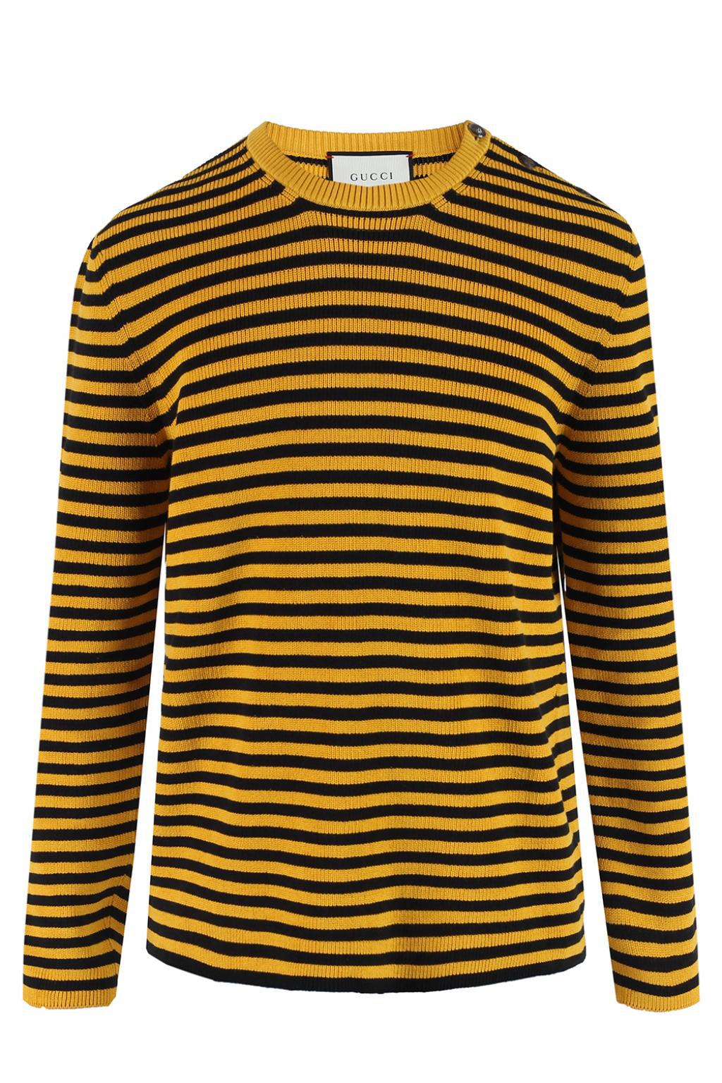 Lyst Gucci Striped Sweater For Men