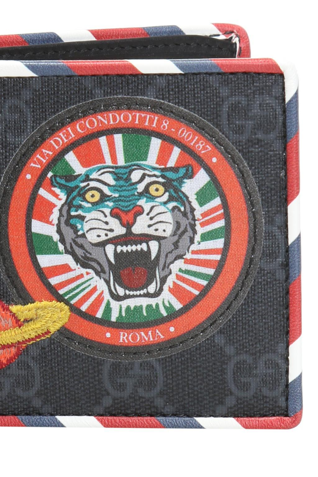 b35e7035 Men's 'GG Supreme' Canvas Bi-fold Wallet