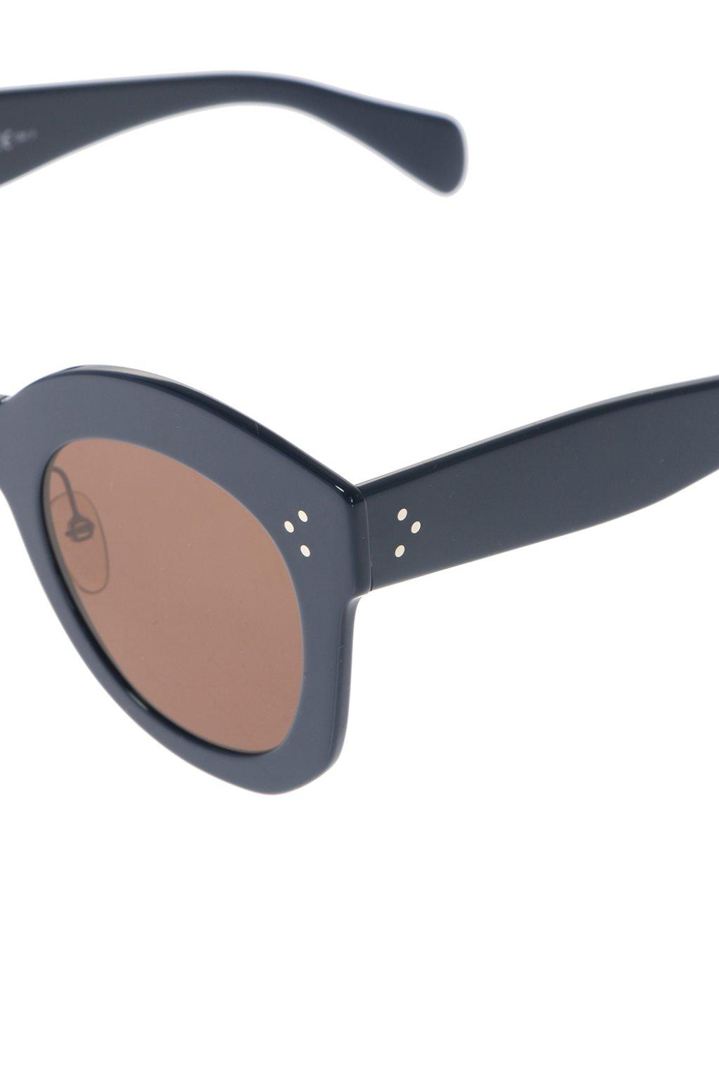 dc69b821e33 Céline - Blue Sunglasses - Lyst. View fullscreen
