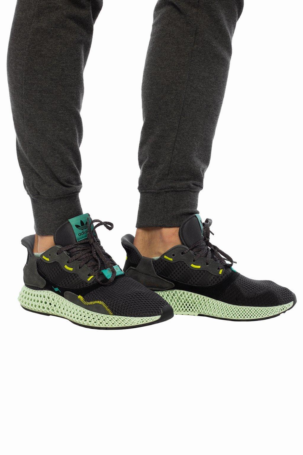 cfd936104 Adidas Originals - Multicolor  zx 4000 4d  Sneakers for Men - Lyst. View  fullscreen