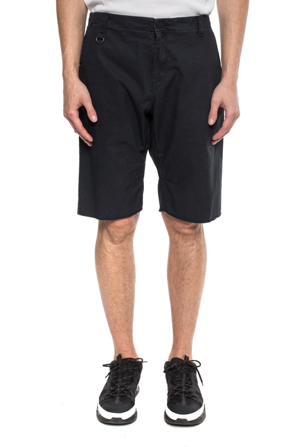 a10ad86799ee Lyst - Moncler Genius Logo-embroidered Shorts in Gray for Men