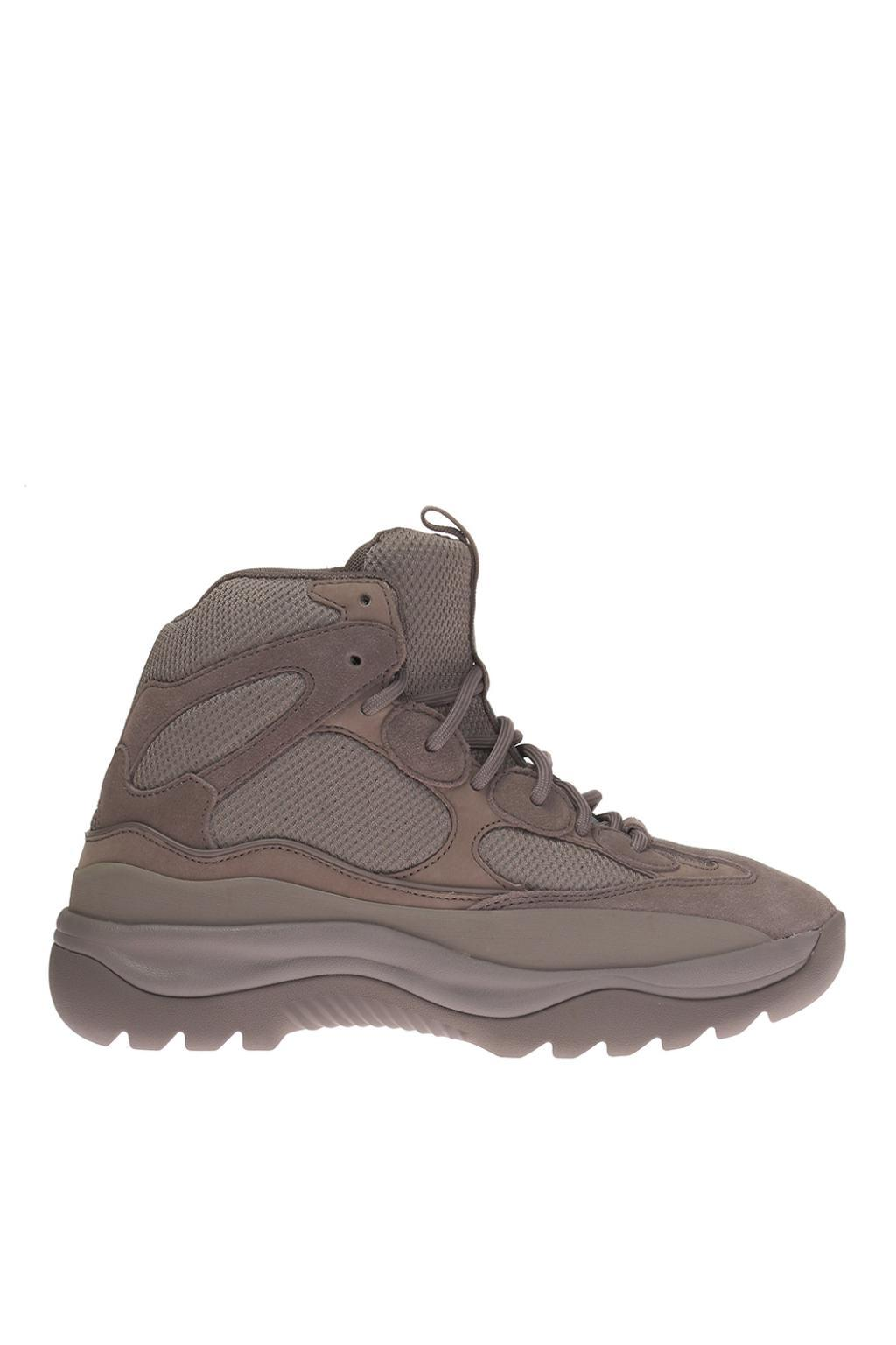 afff3104e Lyst - Yeezy High-top Sneakers in Gray for Men