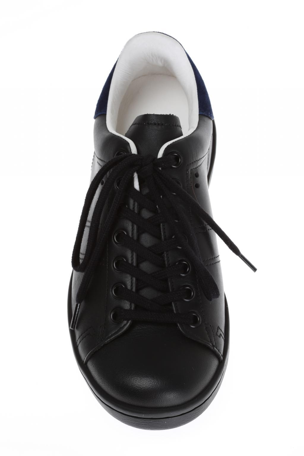 Étoile Isabel Marant Leather 'bart' Sneakers in Black