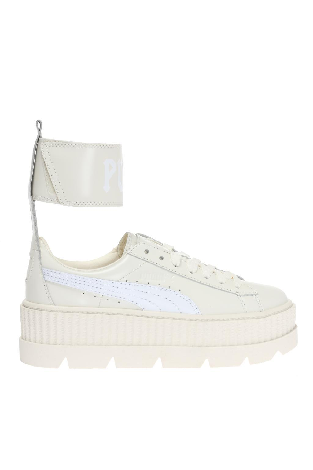 huge discount 3bcc6 28670 PUMA Platform Sneakers in White - Lyst