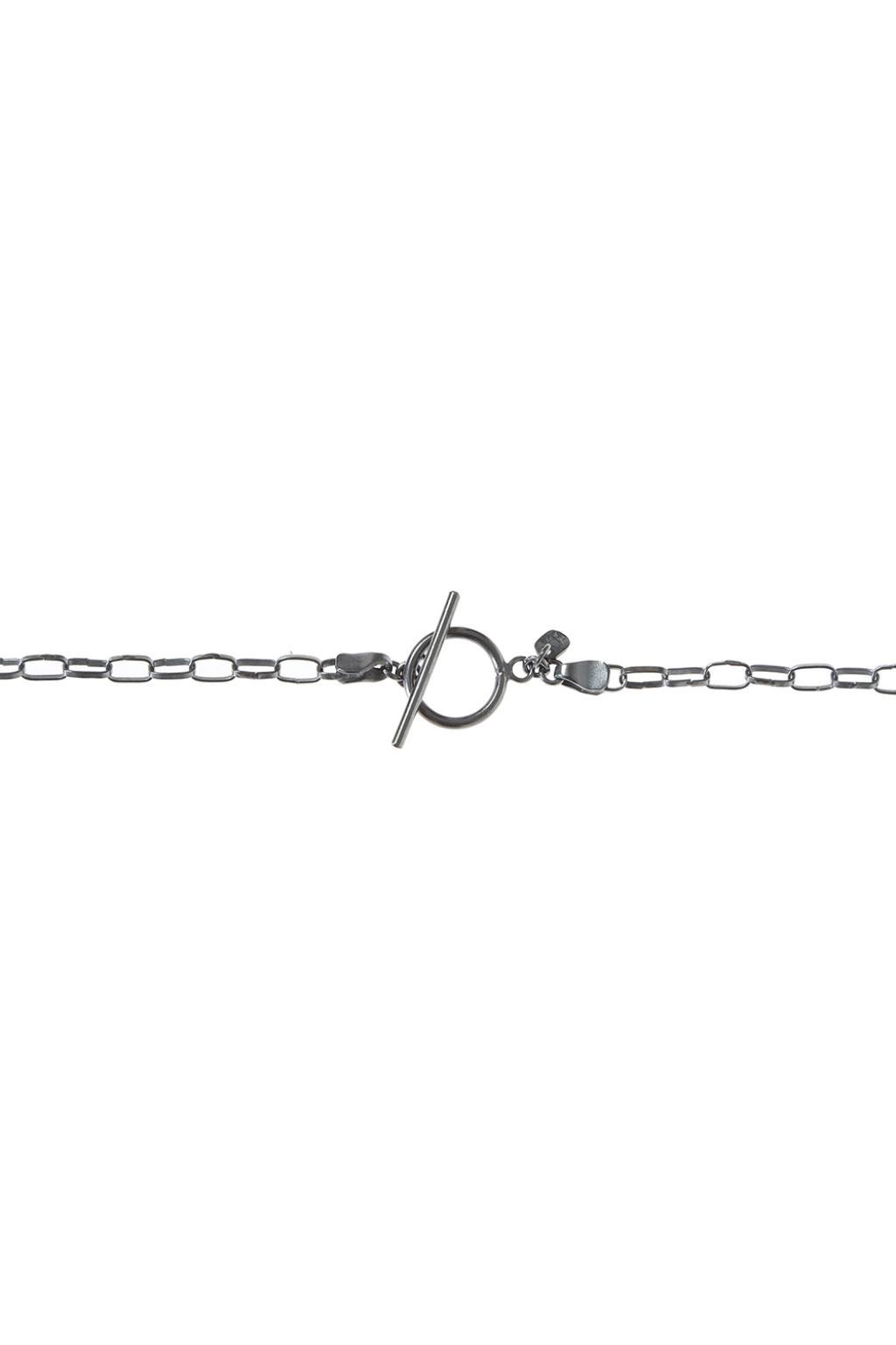 Lost & Found Claws Charm Necklace in Silver (Metallic) for Men
