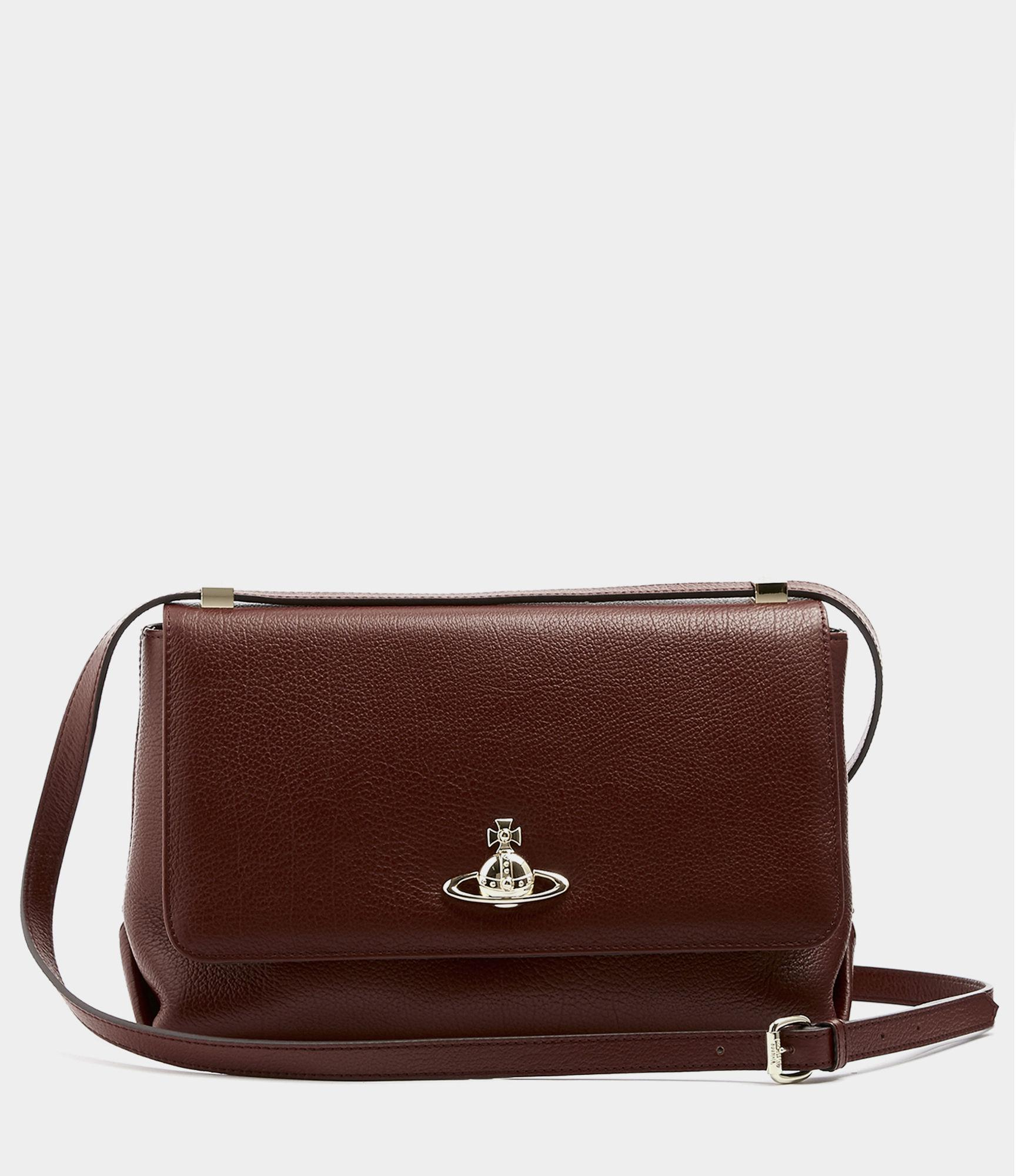 902e2f2edc3f Vivienne Westwood - Brown Balmoral Large Bag With Flap - Lyst. View  fullscreen