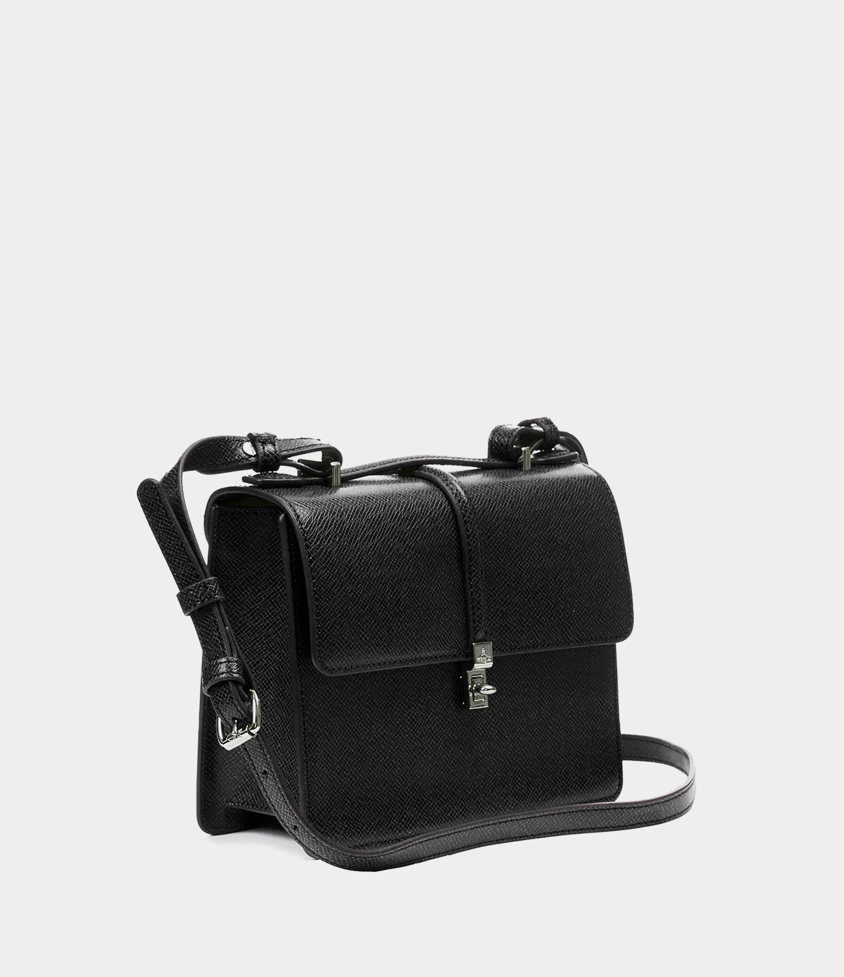 Vivienne Westwood - Black Sofia Medium Shoulder Bag - Lyst. View fullscreen e6b882d434d34