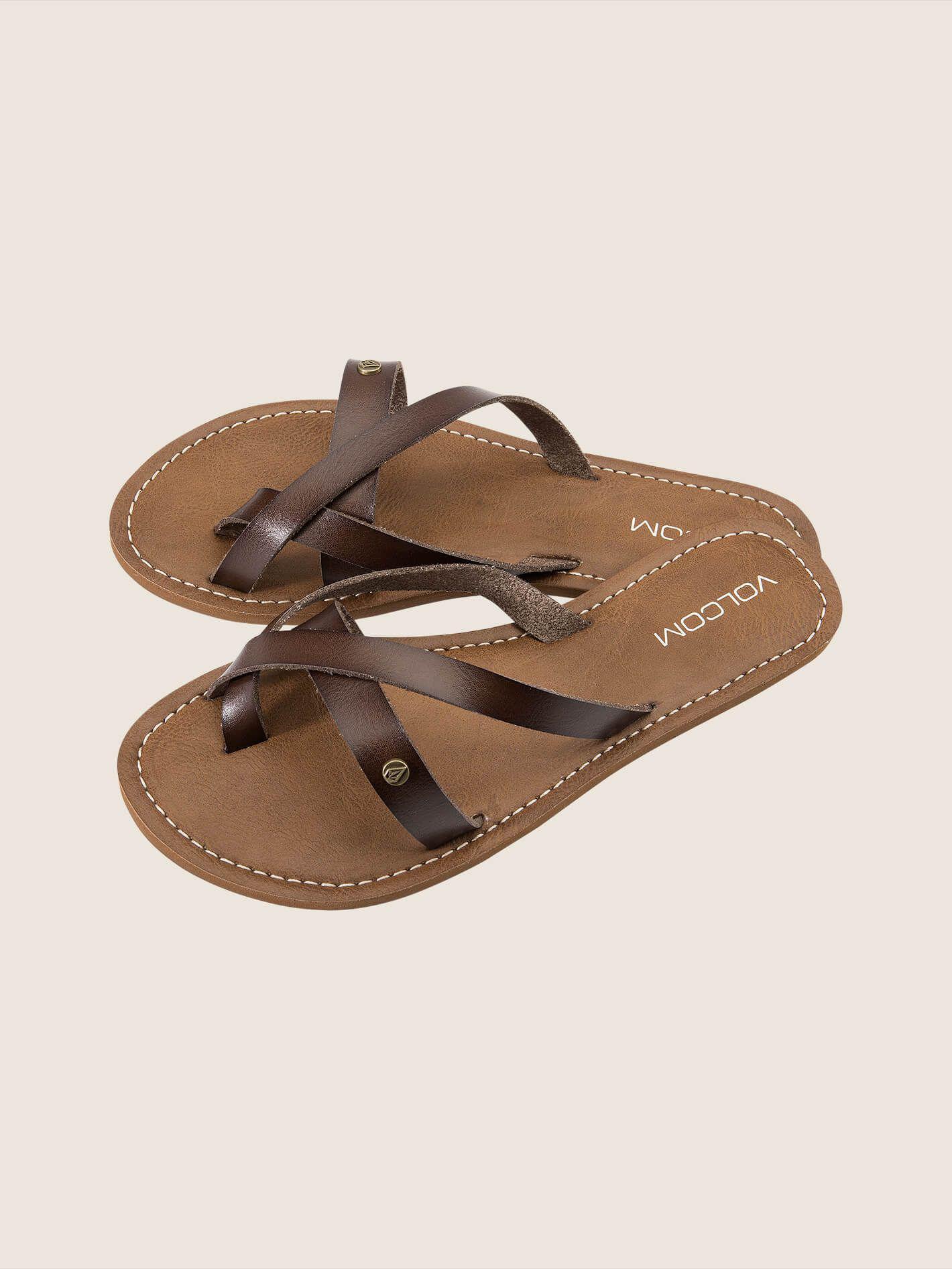 Volcom - Brown Ramble Sandals - Lyst. View Fullscreen