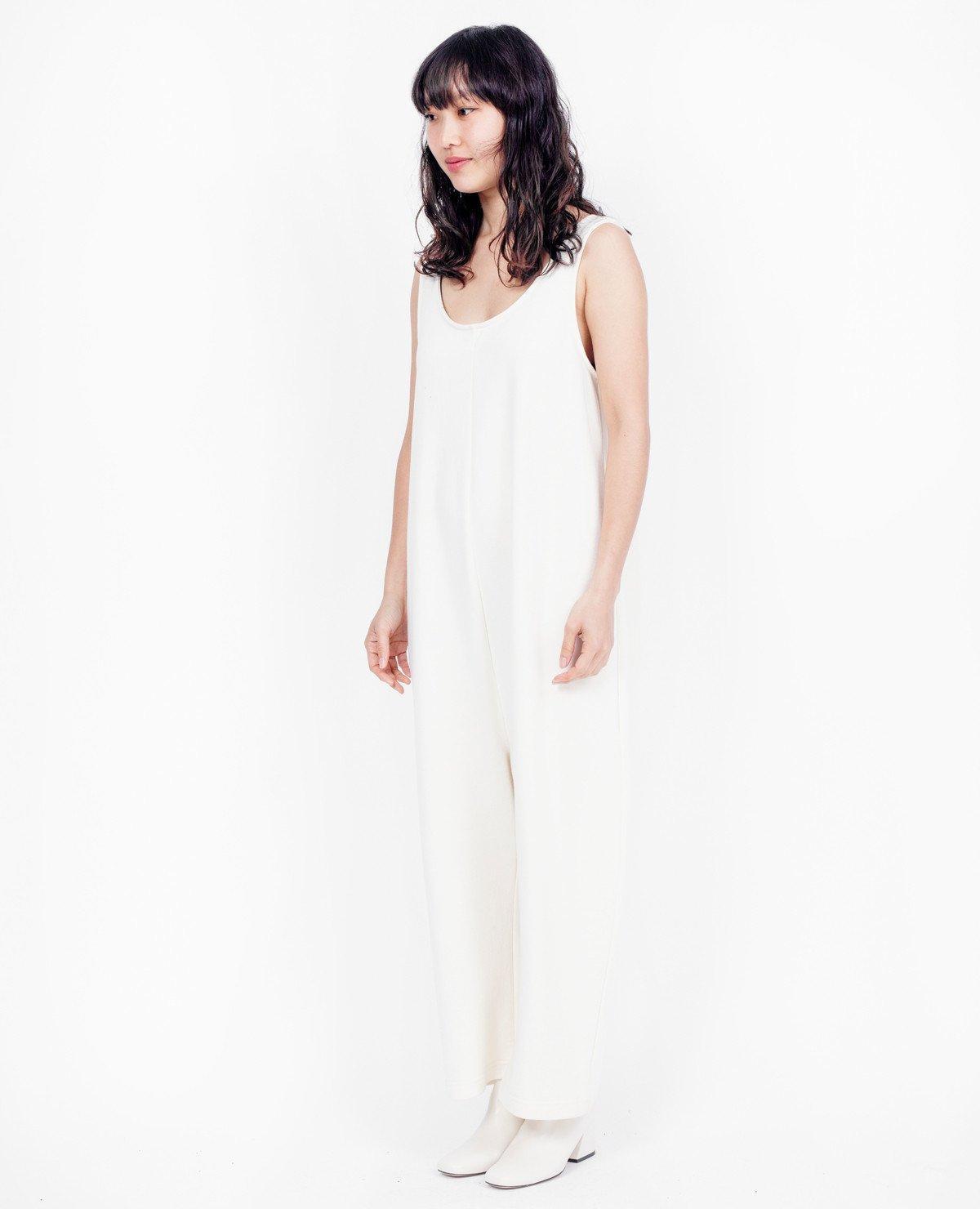 82fd67db7be Ilana Kohn Terry Gary Jumpsuit   Cream - Lyst