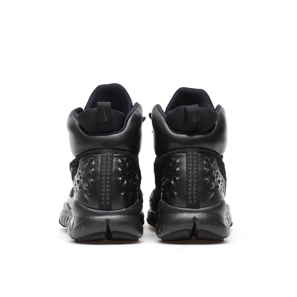 Nike Leather Lupinek Flyknit in Black for Men