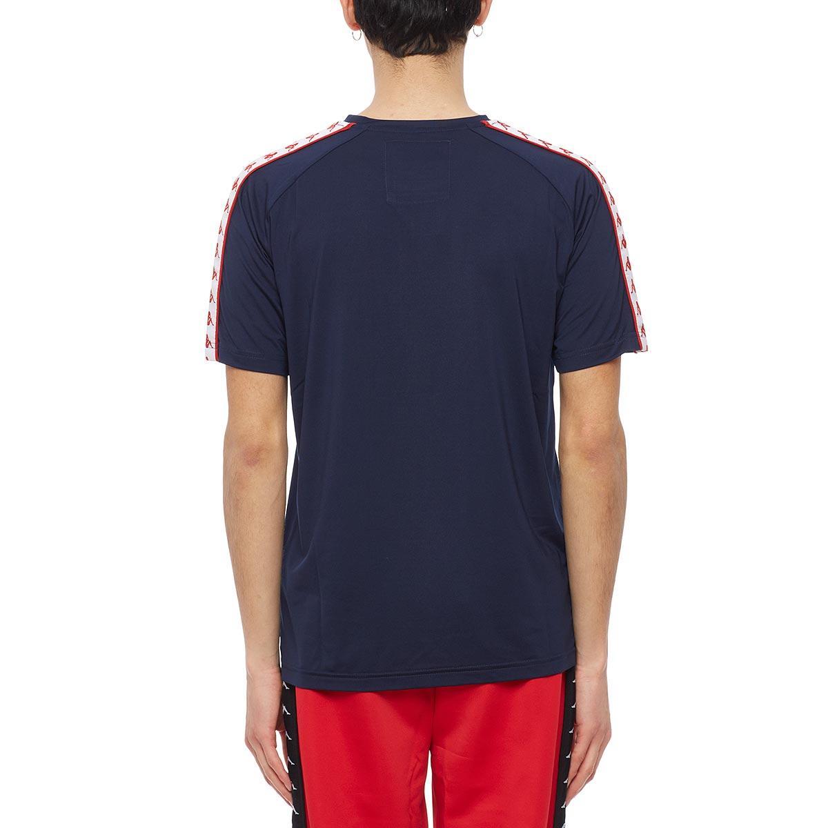 gosha rubchinskiy synthetic kappa tshirt in blue for men