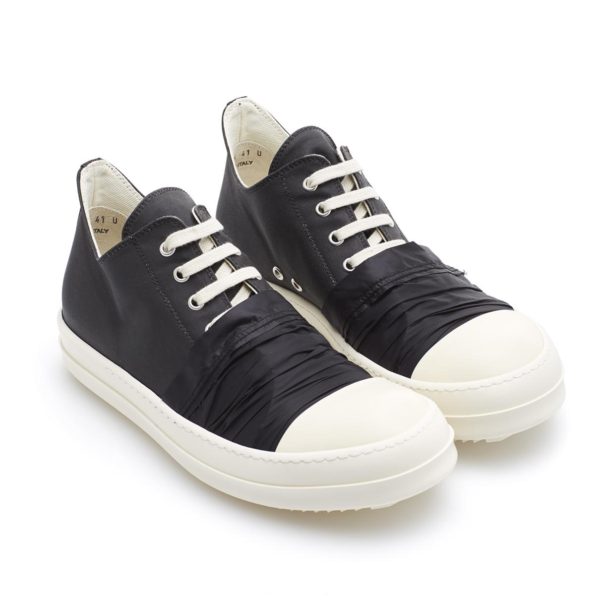 lyst rick owens drkshdw low sneakers in black for men. Black Bedroom Furniture Sets. Home Design Ideas