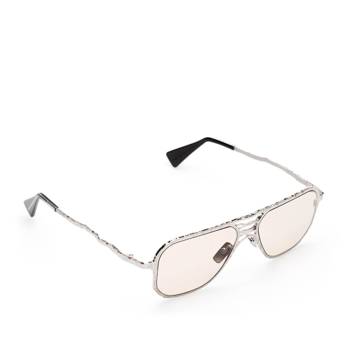 Kuboraum H54 Si Sunglasses in Silver (Metallic) for Men