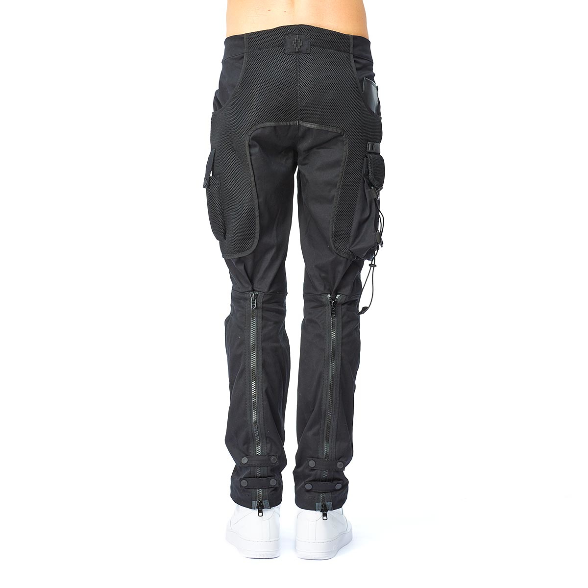 Marcelo Burlon Escalante Trousers in Black for Men